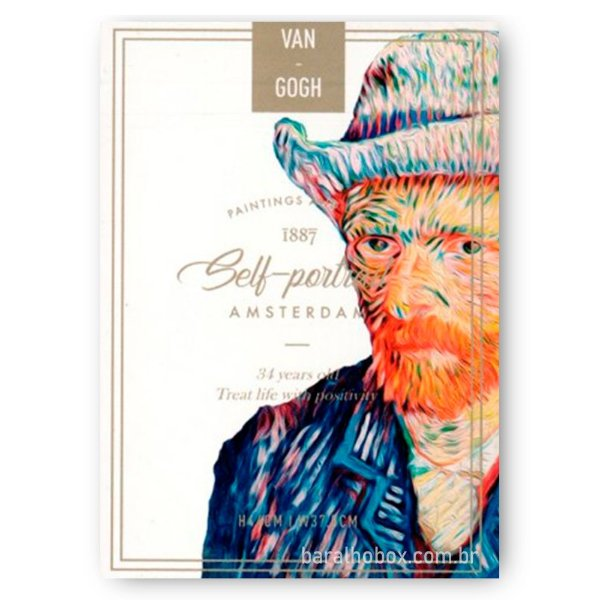 Baralho Van Gogh (Self Portrait)