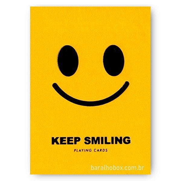 Baralho Keep Smiling V2 Yellow