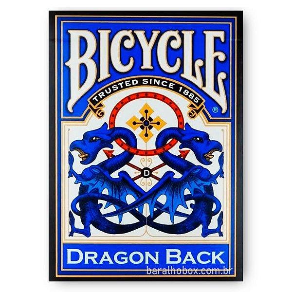 Baralho Bicycle Dragon Blue