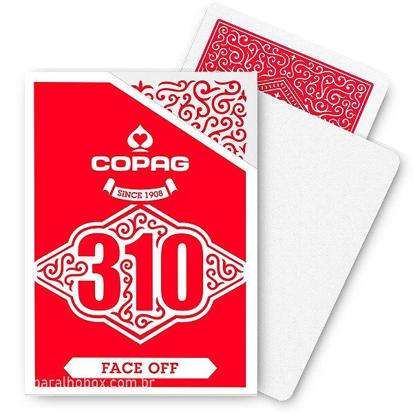 Baralho Copag 310 Face Off Vermelho