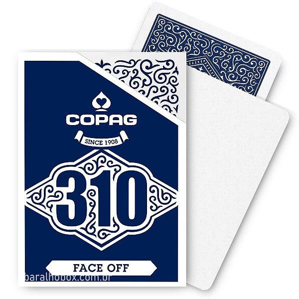 Baralho Copag 310 Face Off Azul