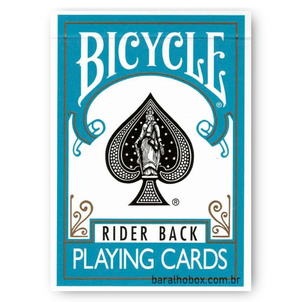 Baralho Bicycle Rider Back Turquesa
