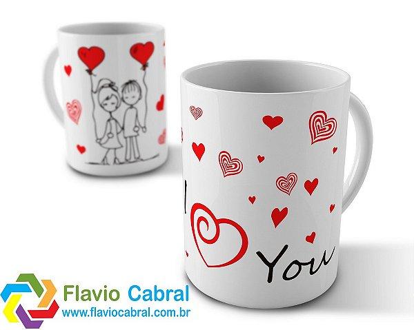 Caneca Love You