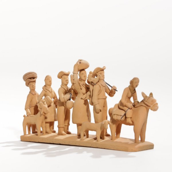 "Miniatura ""Família de retirantes"""