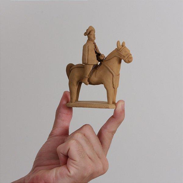 """Miniatura """"Vaqueiro a cavalo"""""""