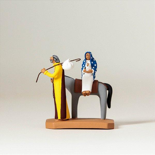 Miniatura Fuga do Egito