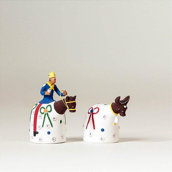 Miniatura Boi e Cavalo Marinho 1