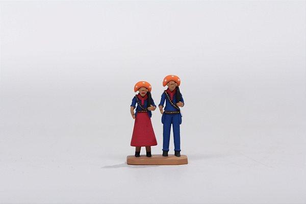 "Miniatura ""Lampião e Maria Bonita"""