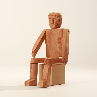 Homem Sentado 01