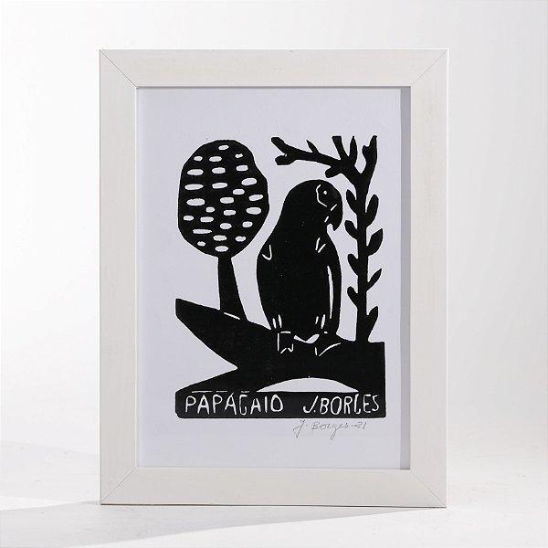 "Quadro ""Papagaio 02"""