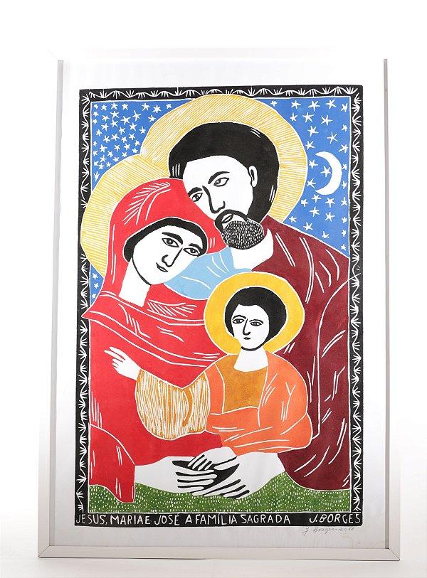 """Quadro """"Sagrada Família"""""""