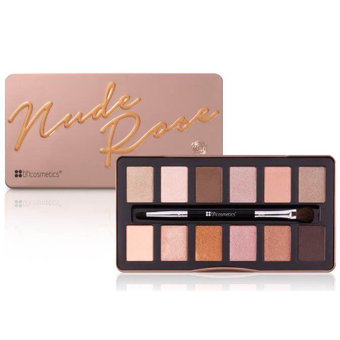 Paleta Nude Rose Bh Cosmetics