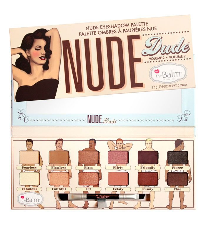 Paleta Nude Dude The Balm