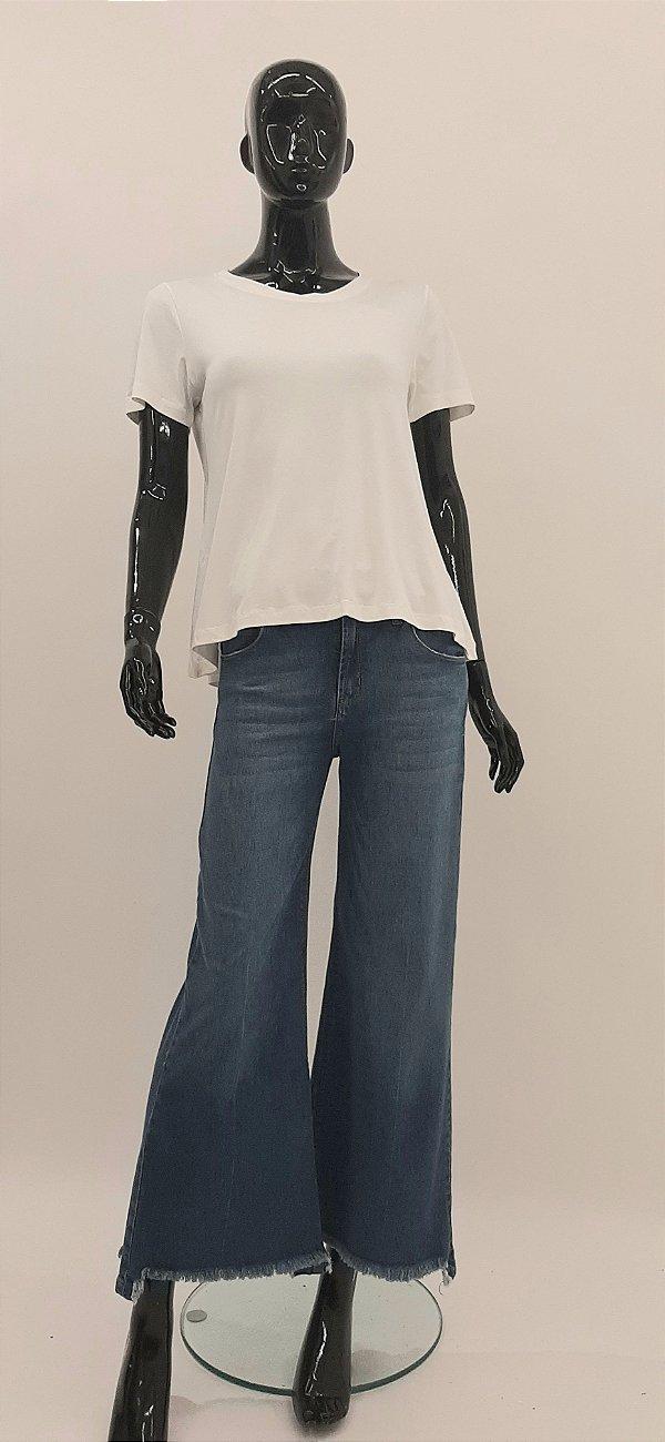 T-Shirt CB Decote Careca Off White
