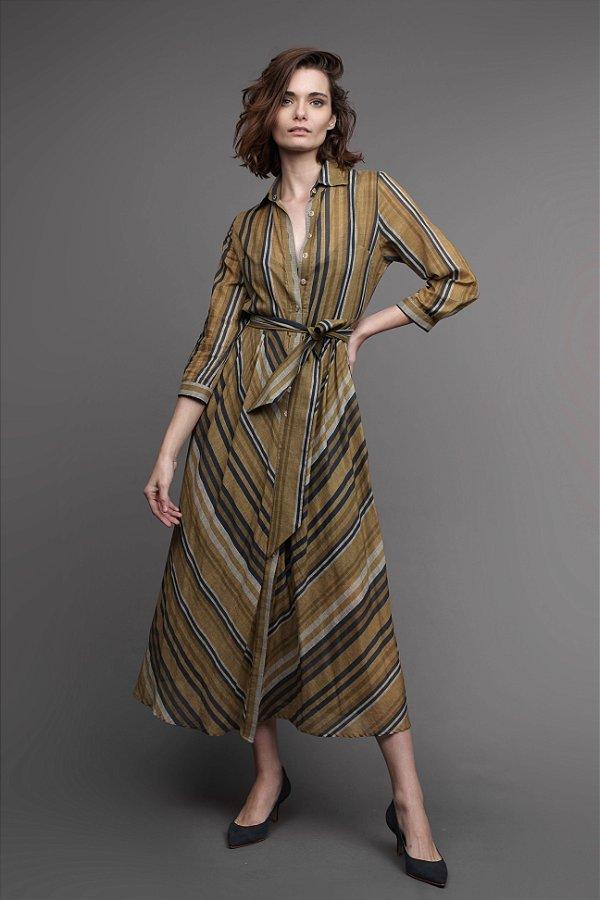 Vestido Cambraia de Algodão Marrocos