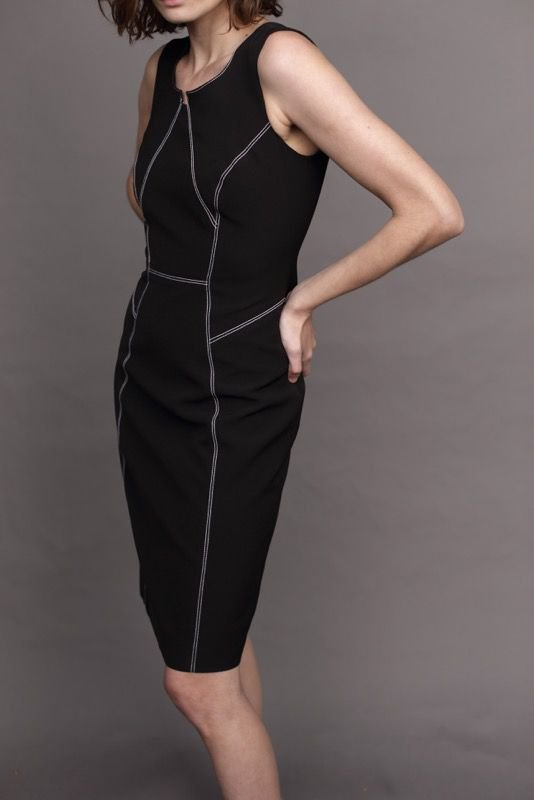 Vestido Lisa Preto