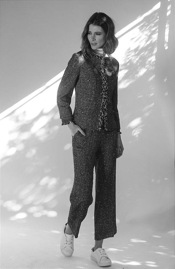 Calça Pantacour Tweed Passion
