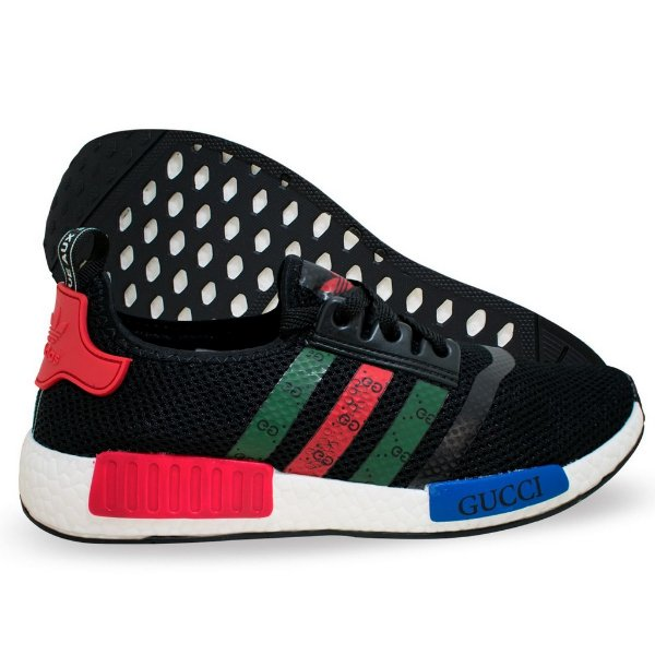 Tênis Adidas NMD Gucci Masculino Preto - NSZ Tenis 0fd0fd5822