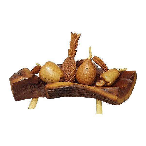 Fruteira em madeira M - PB