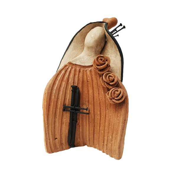 Nossa Senhora em Cerâmica Estilos - LeArtes - PE