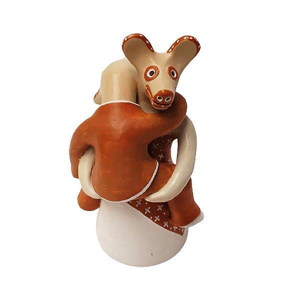 Escultura Antropozomorfa - Rosana Pereira - Caraí MG