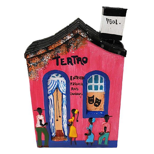 "Casinha de Parede ""Teatro"" - Juliano - SP"