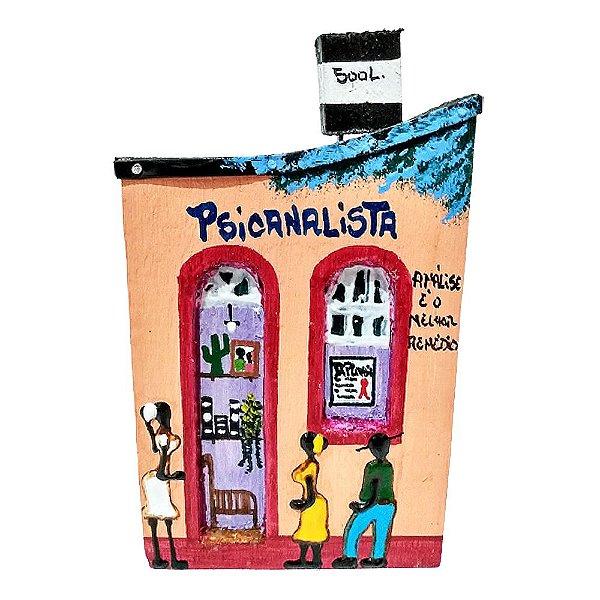 "Casinha de Parede ""Psicanalista"" - Juliano - SP"