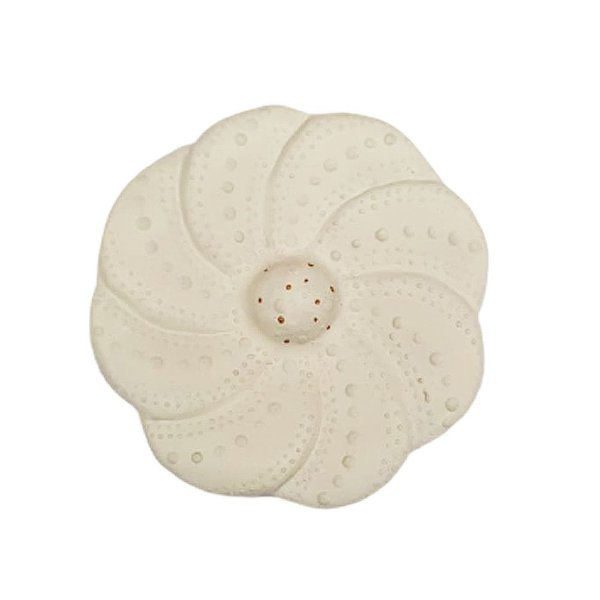 Flor de Parede Branca LUIZA - 10 Cm