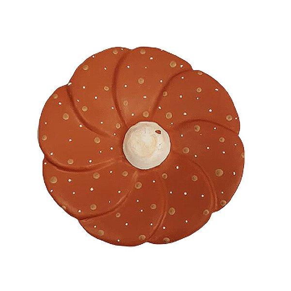Flor de Parede Vermelha LUIZA - 11 Cm