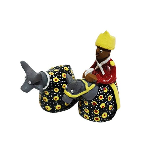 Casal Cavalo Marinho Mini -  Leonildo de Caruaru - PE