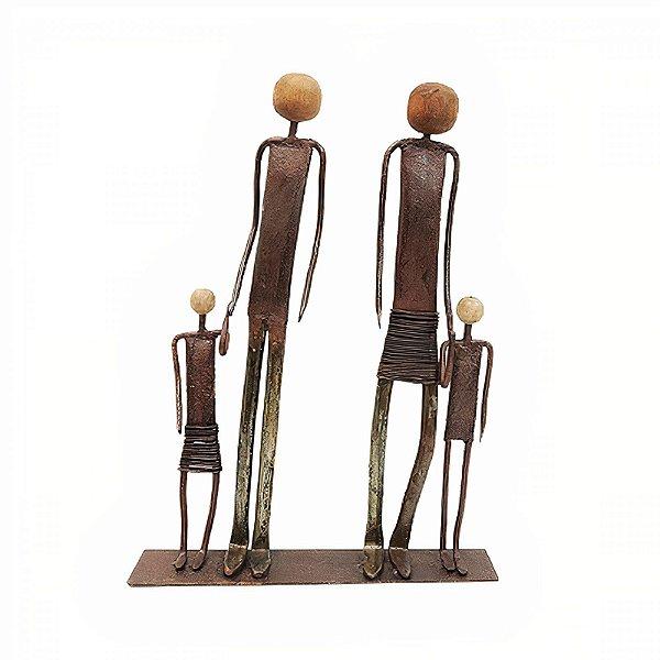 Escultura em Ferro Casal - MG