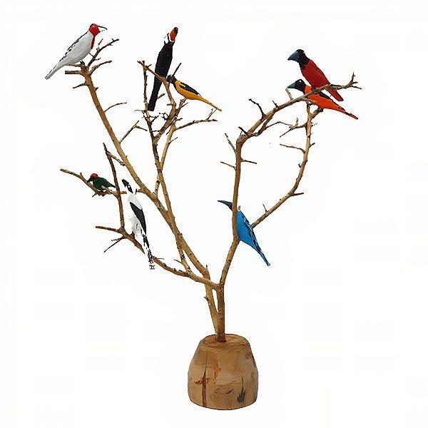 Árvore de Pássaro Color - Genauro I.D.F - AL