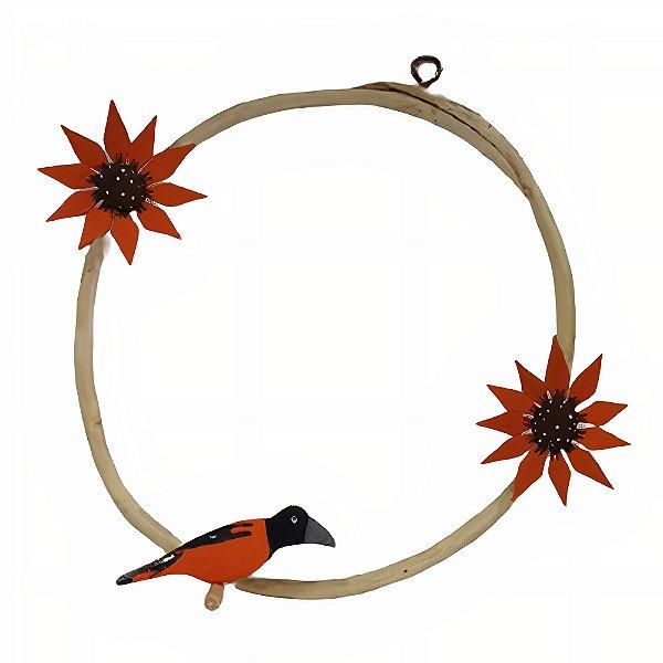 Guirlanda com Pássaro - Genauro I.D.F - AL