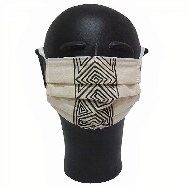 Máscara de Proteção Grafismo Indígena M - AM