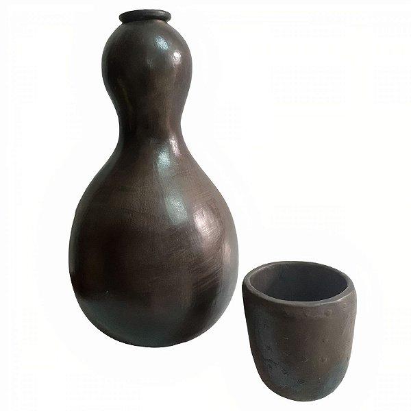 Moringa Moranga Preta 1,5L com Copo - Tida