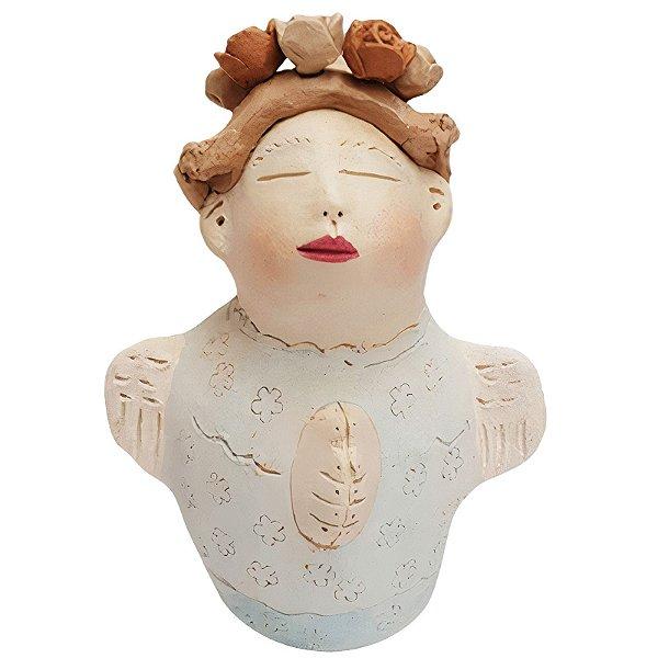 Anjo em Cerâmica - Nené Cavalcanti - PB