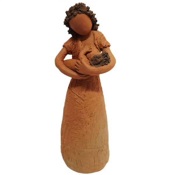 Escultura Mãe P - João Paulo Motta - MG