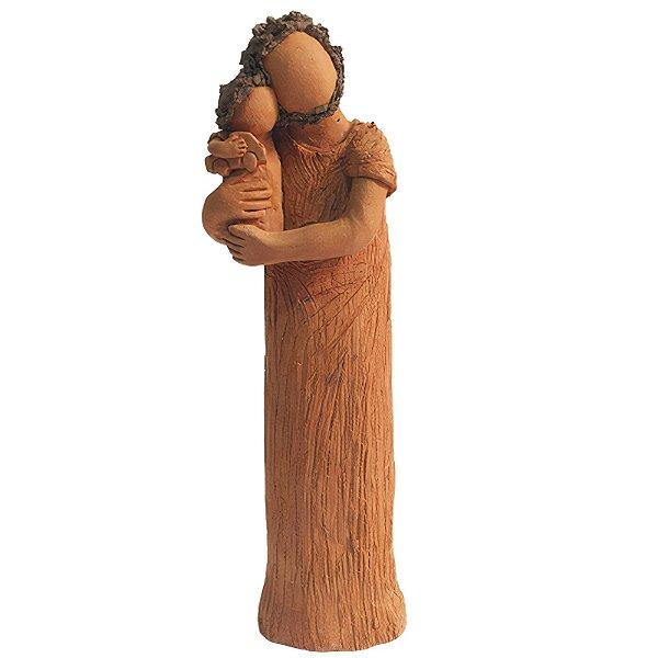 Escultura Pai com 1 Filho - João Paulo Motta - MG