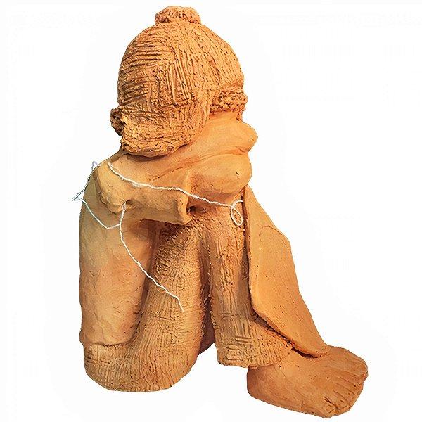 Escultura Criança G João Paulo Mota - MG