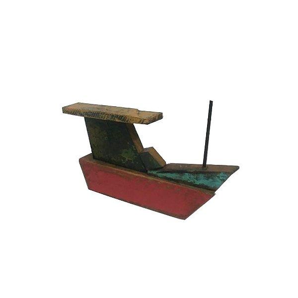 Barco em Madeira de Demolição - ES