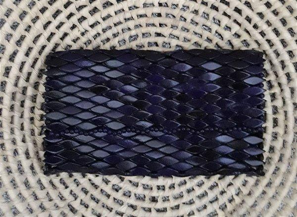 Carteira de Madeira Azul  - CE