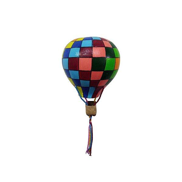 Balão Colorido em Cabaça P - Eloisa SP
