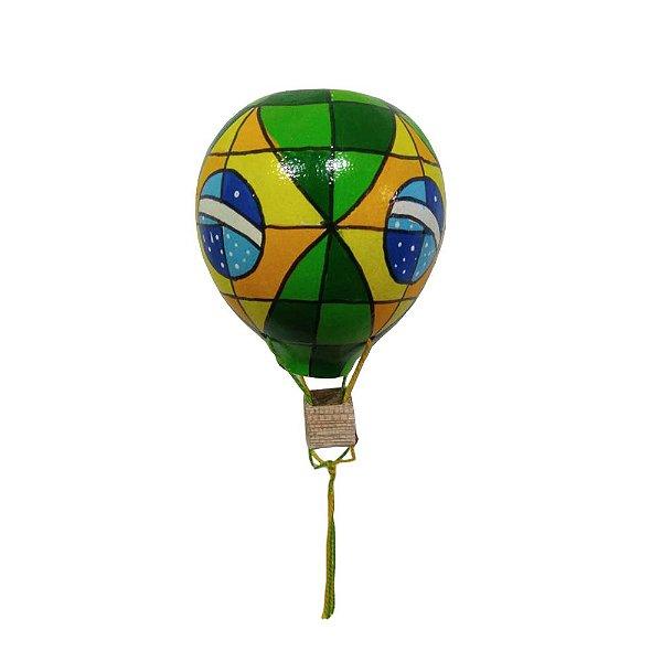 Balão Bandeira do Brasil em Cabaça - SP