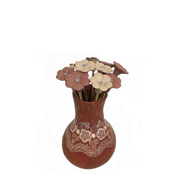 Vaso com Flores GG Vale Jequitinhonha
