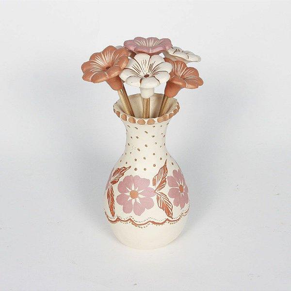 Vaso Com Flores Jequitinhonha  - MG