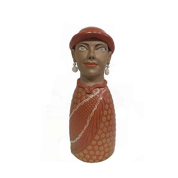 Boneca em Cerâmica Vale do Jequitinhonha M - MG