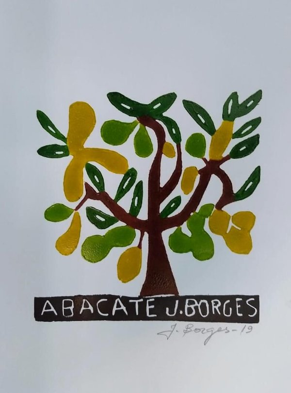 Xilogravura J. Borges Abacate P - PE