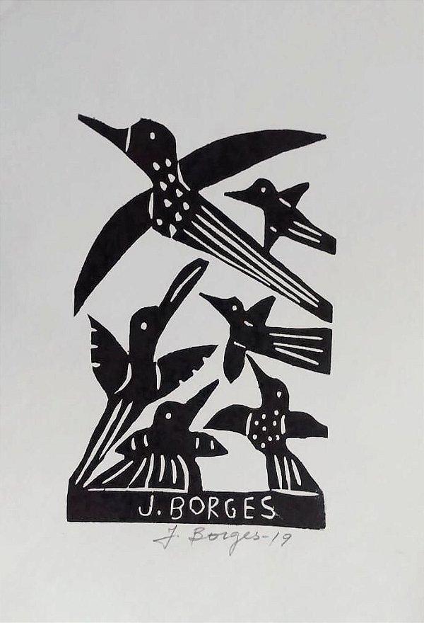 Xilogravura J. Borges P - PE