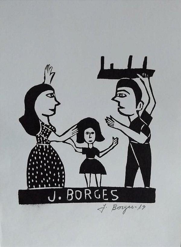 Xilogravura J. Borges P- PE