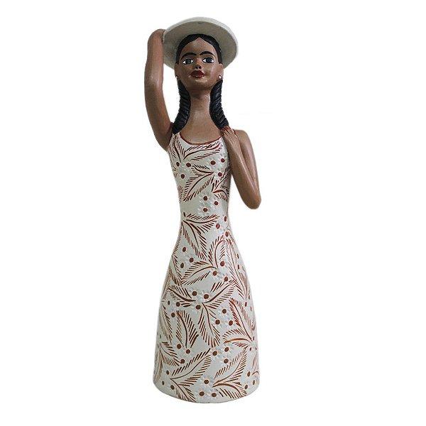 Boneca em Cerâmica Vale do Jequitinhonha P - MG